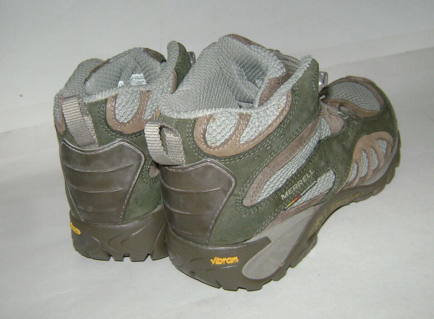 MERRELL SIREN SONG SEAGRASS vibram donna HIKING TRAIL scarpe stivali stivali stivali Dimensione 6 verde a6c054