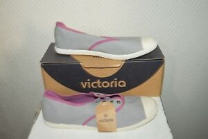 CHAUSSURE-TOILE-BASKET-TENNIS-VICTORIA-TAILLE-39-SHOES-ZAPATOS-STIVALI-NEUF