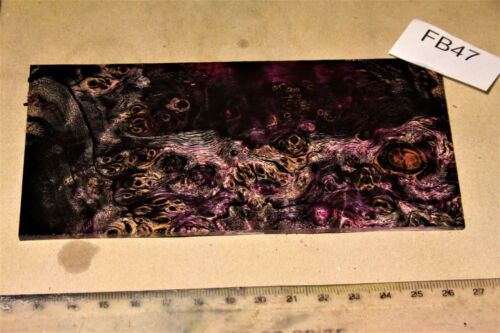 1 plaque door plate peuplier Maser Rose Noir stabilisé 146x69x3mm PUQ fb47
