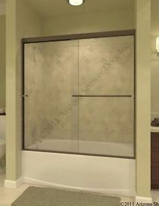 Image Is Loading NEW Nice Arizona Over Tub Sliding SHOWER DOOR