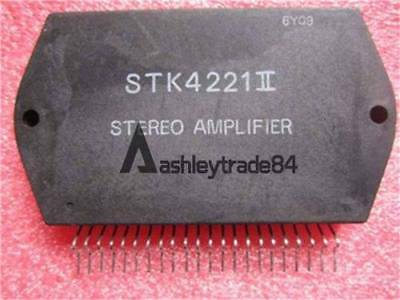 1pcs manu sanyo stk4221ii encapsulation sip zip af power amplifier split power ebay. Black Bedroom Furniture Sets. Home Design Ideas
