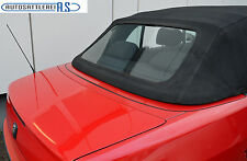 Peugeot 306 Cabrio Heckscheibe mit Reißverschluss mit Prüfsigel für TÜV