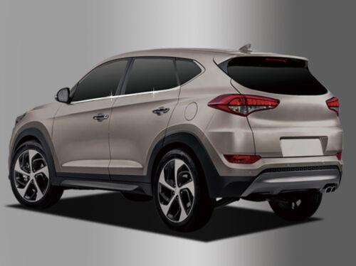 Zubehör für Hyundai Tucson 2015-2019 untere Fensterleisten Seitenleisten chrom