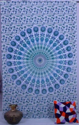 Indian Mandala Tapestry Wall Hanging Throw Twin Hippie Bed Cover Gypsy Boho New