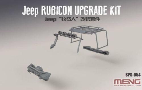 Meng Jeep Wrangler Rubicon Upgrade Exterior Set Resin 1:24 Kit Art SPS-054
