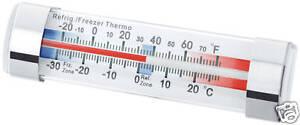 Kitchencraft Kühlschrank & Gefrierschrank Thermometer Saugnapf Passen. Easy Sich