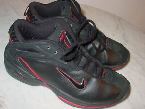 Details about 2003 Vintage Nike Air Flight Black/Red Basketball Shoes! Size  9.5