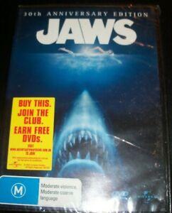 Jaws-30th-Anniversary-Edition-2-Disc-Australia-Region-4-DVD-New-Still-Sea