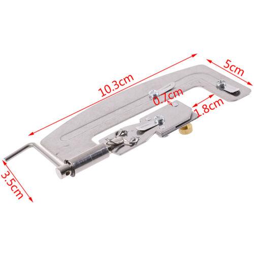 1Pc Stainless Steel Semi-automatic Fishing Hook Line Tier Tie Binding SuppliJj$