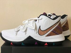 7c2d5c99828 Nike Kyrie 5 BHM BQ6237-100 Black History Month Irving Mens ...
