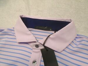 Greyson-Golf-Performance-Fabric-Aspatong-Pink-Striped-Polo-Golf-Shirt-NWT-XL-95