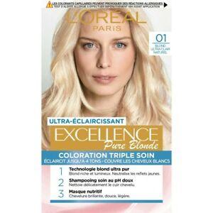L'Oréal Paris Excellence Crème Coloration Cheveux Triple Soin Permanente