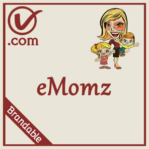 eMomz.com | Brandable Mom / Parenting LLLLL COM Domain Name 5 Letter 5L