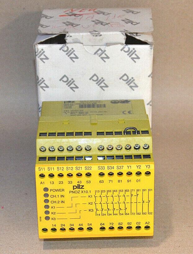 774749 Aus-Schaltgerät  Typ Pilz PNOZ X10.1 Not