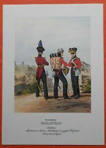 Artillerie Lieutenant Herzogthum Holstein Grand Uniforme Monten Pierre Pression 1978-afficher Le Titre D'origine Belle Apparence