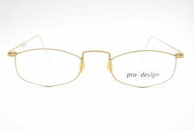 Acquista A Buon Mercato Vintage Pro Design Denmak Plato Link 4509 46 [] 16 145 Oro Ovale Occhiali Nos-mostra Il Titolo Originale