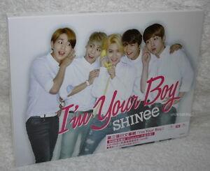 SHINee-I-039-m-Your-Boy-Taiwan-Ltd-CD-DVD-48P-booklet-Card-Ver-B-JONGHYUN