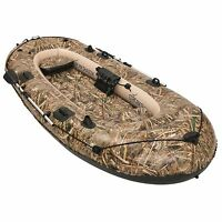 Bestway Hydro Force 137 X 56 Inches Stream Shadow Inflatable Boat/ Raft | 92101e