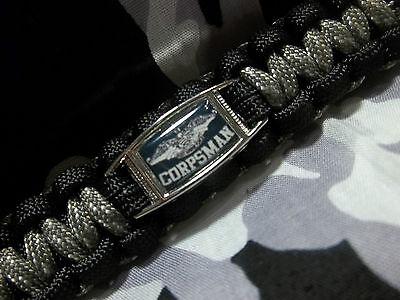 Devil Doc-Paracord Keychain//Key Fob US NAVY CorpsMan