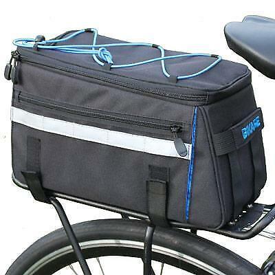 BiKASE Big Momma Trasero Tronco Bolsa Negro 12 X 7.5  X 7.0 Bicicleta