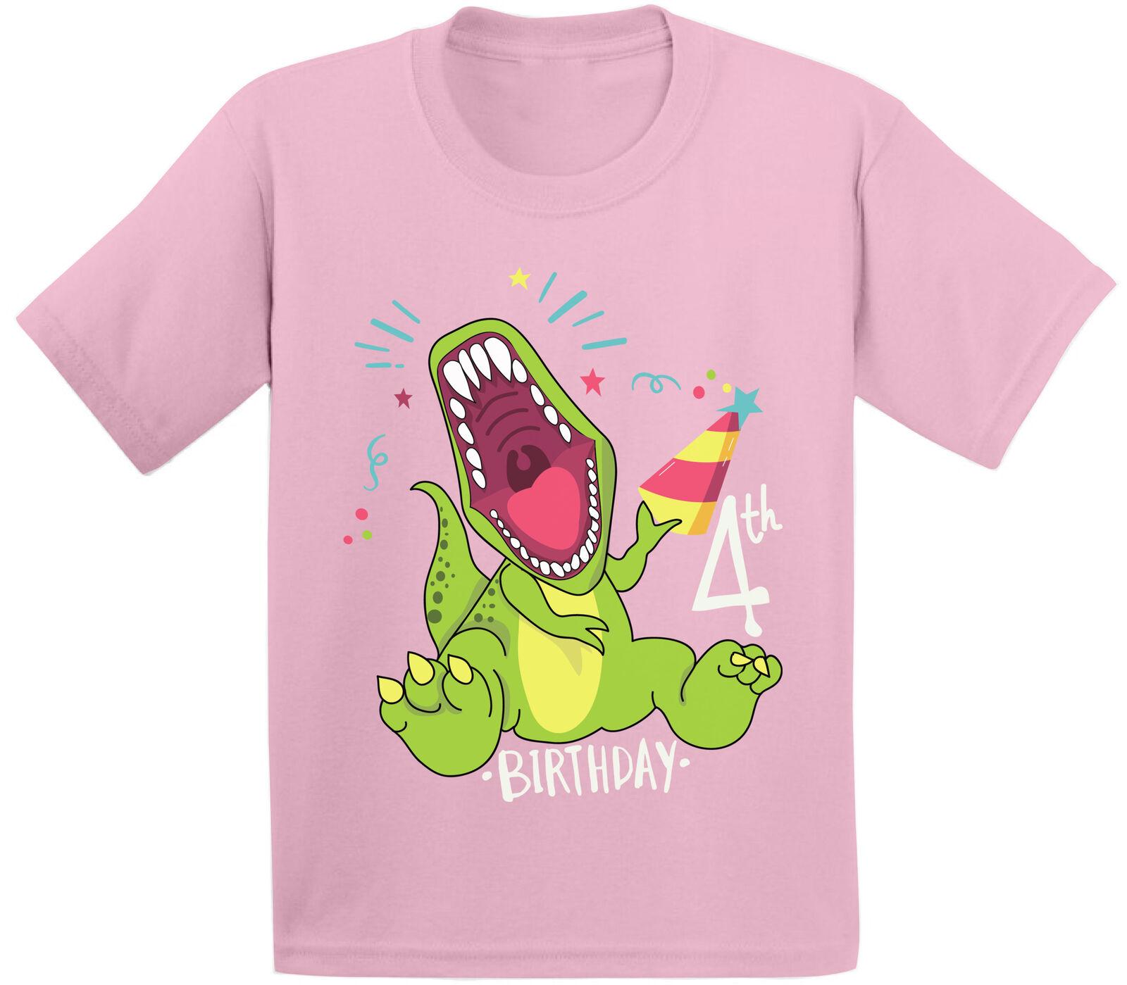 Inktastic I/'m The Birthday Boy T-rex Dinosaur Party Toddler T-Shirt Birthdays