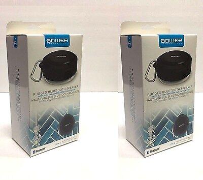 8x Bower Rugged Bluetooth Speaker W/Carabiner+Suction Cup  Waterproof-Splashproof 636980860938  eBay
