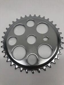 "Black Bicycle ChainRing Sprocket 44T x 1//2/"" x 1//8/"" Lucky-7 BMX Bikes"