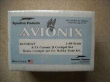 AVIONIX 1/48-BLC48027 A-7A CORSAIR II COCKPIT SET FOR HOBBY BOSS  KIT