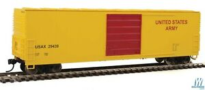 HO-Scale-Walthers-910-1921-50-039-Evans-Boxcar-US-Army-29439
