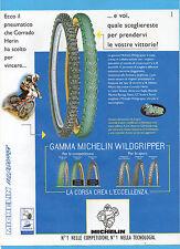 BICMON997-PUBBLICITA'/ADVERTISING-1997- MICHELIN GAMMA WILDGRIPPER