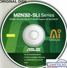 ASUS GENUINE VINTAGE ORIGINAL DISK FOR M2N32-SLi M2N32-SLi DELUXE  Disk M896