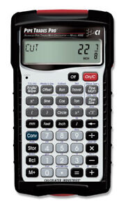 Calculated Industries 4095 Pipe Trades Pro Advanced Pipe Trades Math Calculator