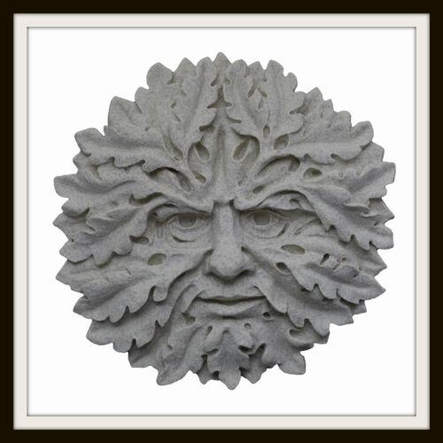 La quercia verde uomo ~ Greenman targa sul muro ~ giardino o in ambienti interni ~ UK Fatto
