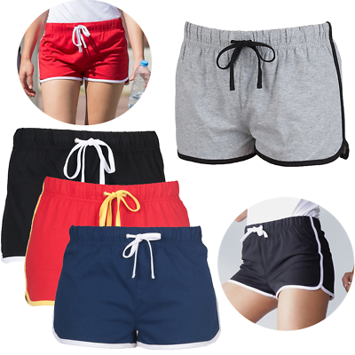 Sf Retro Sk069 Women's Shorts Skinni Fit Ladies Sports Gym Summer Sports Shorts