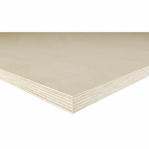 5 x Birch Faced Plywood Panels 610 x 305mm x 0.8mm Wood Sheet Pack PLY0X5