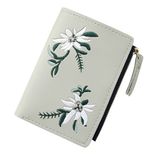 Cute Wallets PU Leather Coin Purse Bifold Wallet Clutch Bag Card Holder for Girl