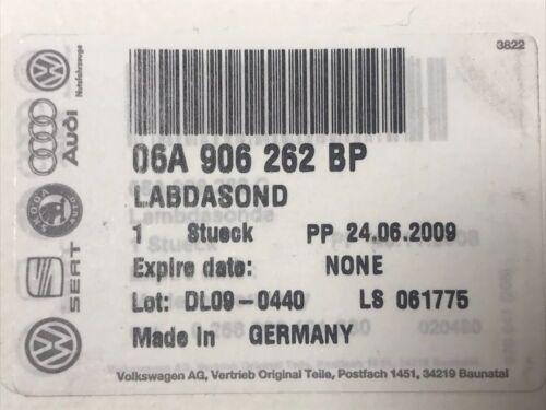Cordoba 2.0 Ltr 2002- Lambdasonde 06A906262 BP Neu original SEAT Ibiza IV Bj