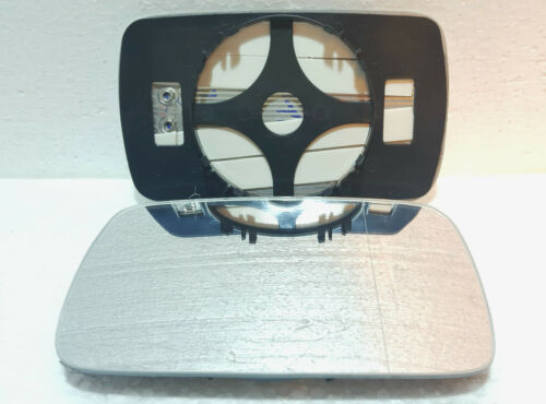 DRIVER SIDE HEATED WING DOOR MIRROR GLASS BMW 3 E46 1998-2005 Clip On