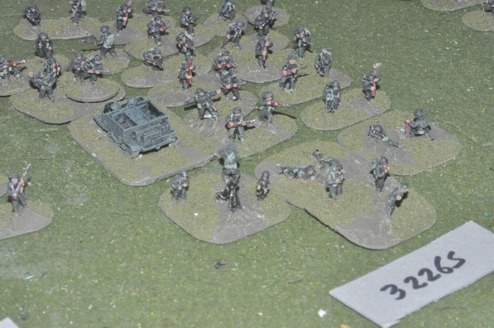 15mm WW2   british - section (as photo) - inf (32265)