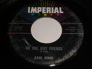 Earl-King-We-Are-Just-Friends-You-039-re-More-To-Me-Than-Gold-45-R-amp-B
