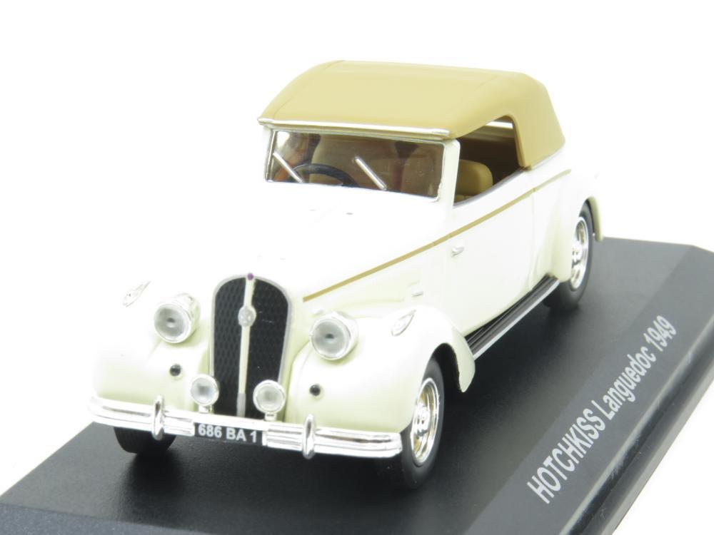 Norev Norev Norev Diecast Modelo 590004 Hotchkiss Languedoc 1949 Crema 1 43 ESCALA en Caja 5033b4