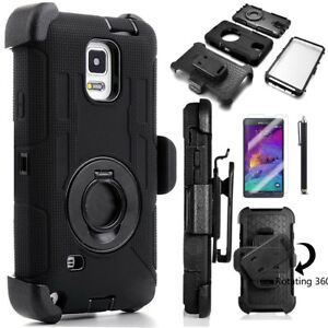 Rugged-Hybrid-Hard-Cover-Shockproof-Clip-Case-for-Samsung-Galaxy-Note-9-8-S8-S9