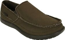 Crocs Avast Chocolate Mens 8 Canvas NWT NEW Slip-on I AM GOING OUT OF BUSINESS