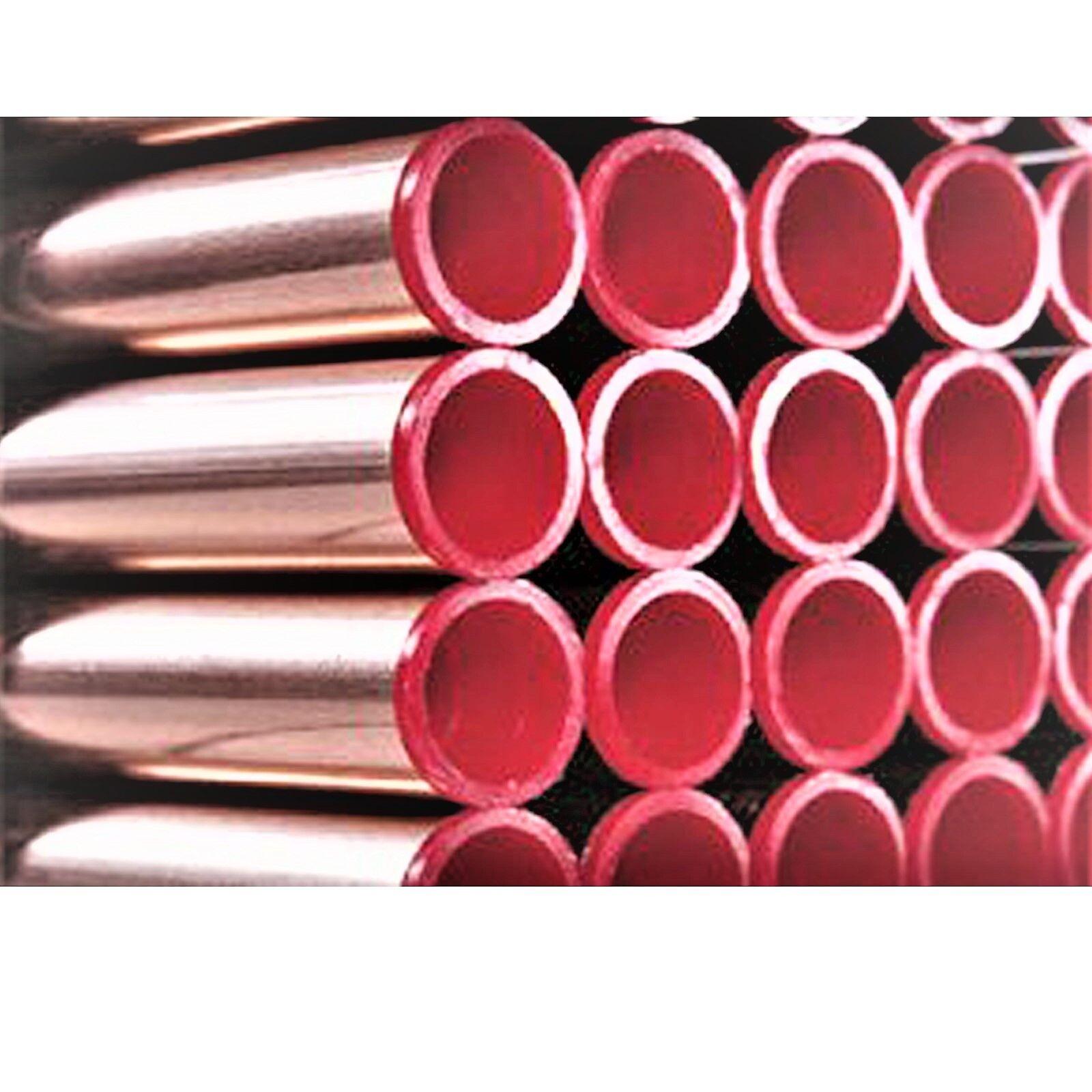 25 m Buderus Kupferrohr 18 x 1,0 mm halbhart, CU-Rohr Heizung 5m Stange RAL/DVGW