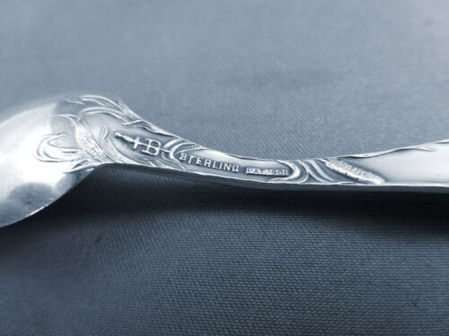 CATTAILS BY BLACKINTON STERLING DEMITASSE SPOON S
