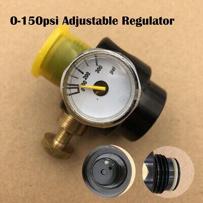 Paintball Tank High Pressure Co2 Adjustbale Valve Regulator 0-150Psi Output US