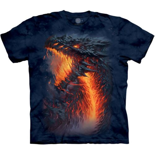 La MONTAGNA UNISEX BAMBINO Lavaborn Drago Fantasy T Shirt
