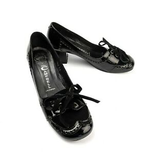 Jeffrey-Campbell-Twig-Black-Patent-Leather-Mary-Jane-Oxford-Heel-Size-7-5