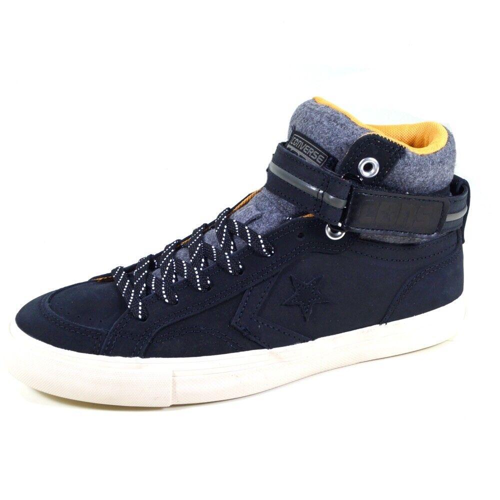 Converse Herren Schuhe Pro Blaze Plus Suede 42 Hi Schwarz 153736C Sneakers 42 Suede 3863d0