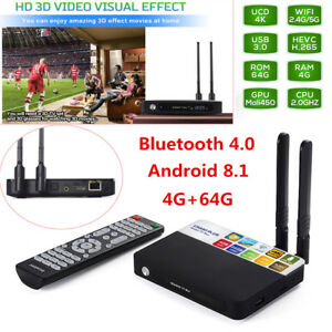 tv box android 8.1 4gb 64 gb octa  4+64GB Android 8.1 Amlogic RK3328 Octa Core 4K TV BOX CSA93 PLUS ...